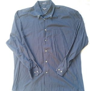 Navy blue Dockers Tour button down long sleeve